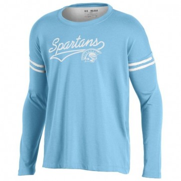 UA Girls Sleeve Stripe Tee