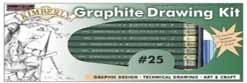 Graphite Drawing Pencil Kit