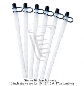 Tervis Set of Six Straws 10''