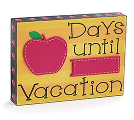 Days Until Vacation Block