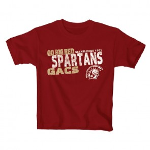 Youth Go Big Red Tee