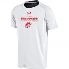 UA Youth Charged Cotton Tee