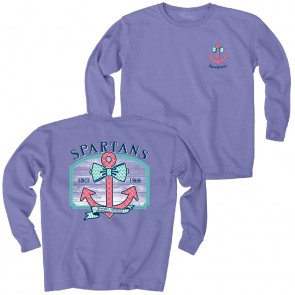 Girls L/S 'Anchor' Tee