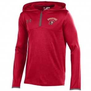 UA Yth Tech 1/4 Zip Hoody