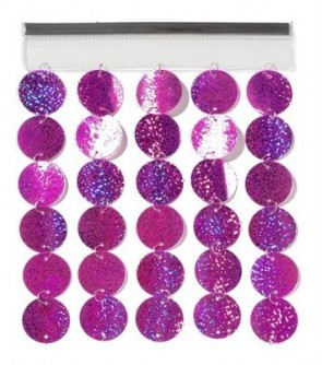 Locker Glitter Curtain