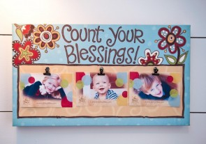 Blessings Clip Canvas