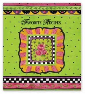 Rose Garden Recipe Binder