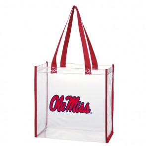 Clear Open Stadium Tote