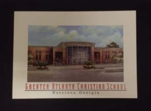 Post Cards, High School Bldg