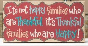 Thankful Families 10X20