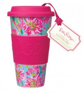 Lilly Pulitzer Double Wall Mug