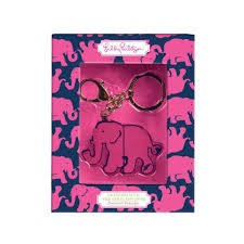 Lilly P Keychain w/Flash Drive
