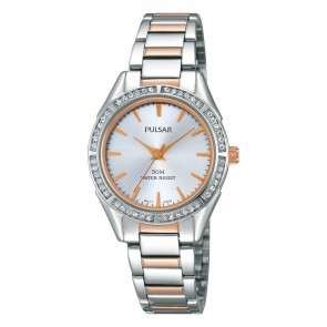 Ladies 2 Tone Quartz Watch