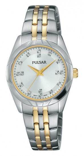 Ladies 2 Tone Night Out Watch