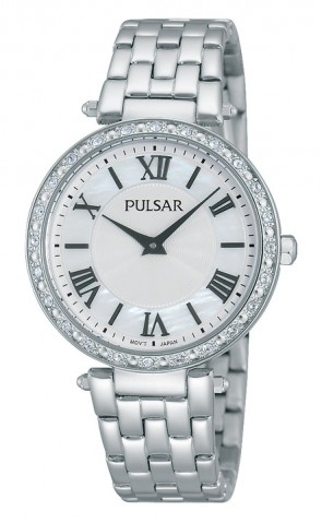 Ladies Analog Stainless Watch