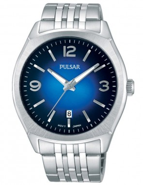 Men's Trad Silver, Blue Dial