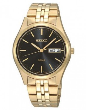 Seiko Mens Solar Quartz Watch