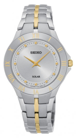 Ladies 2-Tone Stainless Steel