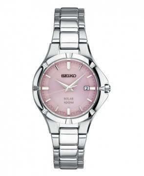 Ladies Solar w/Pink Dial