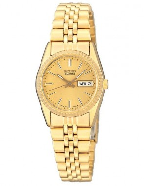 Ladies Dress Gold Tone Watch