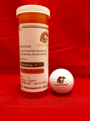 Golf Ball Prescription Tube
