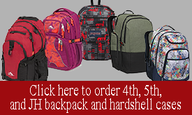 Backpacks for 16-17 school year