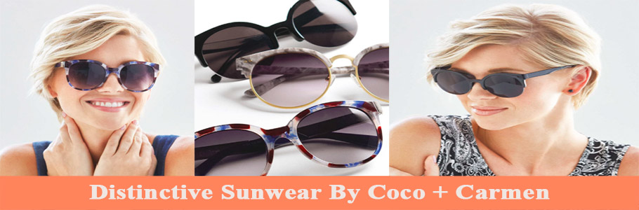 "Introducing ""Sunnies"" By Coco + Carmen"